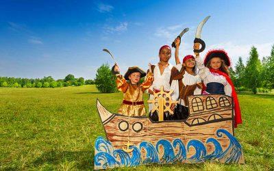 Les corsaires et les jeux d'enfants